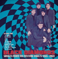 "VARIOUS - BLACK DIAMONDS : SINGLES FROM THE FESTIVAL VAULT 1965 - 1969 VOLUME TWO (10 X 45PRM BOX SET)    (70994/7""s)"