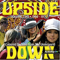 VARIOUS - UPSIDE DOWN VOLUME TWO : Coloured Dreams From The Underworld 1966-1971   (CD24548/CD)