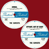 "SUNSETS - ANIMAL / UPTIGHT OUT OF SIGHT    (70995/7""s)"