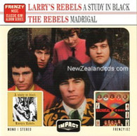 LARRY'S REBELS - A STUDY IN BLACK + MADRIGAL    (CD24621/CD)
