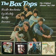 BOX TOPS - THE LETTER-NEON RAINBOW + CRY LIKE A BABY + NON STOP + DIMENSIONS : THE ORIGINAL ALBUMS 1967-1969 (2CD)    (CD24624/CD)