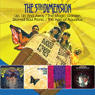 5TH DIMENSION - UP, UP AND AWAY / THE MAGIC GARDEN / STONED SOUL PICNIC / THE AGE OF AQUARIUS (2CD)    (CD24694/CD)