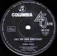 IFIELD,FRANK  -   Call her your sweetheart/ All my daydreaming (G70284/7s)
