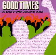 VARIOUS - GOOD TIMES : 30 YEARS OF AUSTRALIAN ROCK & ROLL (2CD)    (CD1010/CD)