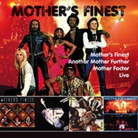 MOTHER'S FINEST - MOTHER'S FINEST + LIVE + ANOTHER MOTHER FURTHER + MOTHER FACTO    (CD24836/CD)