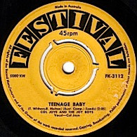 JOYE,COL & JOY BOYS  -   Teenage baby/ Half as much (G75237/7s)