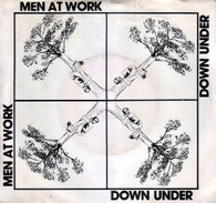 MEN AT WORK  -   Down under/ Crazy (G76207/7s)