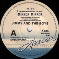 JIMMY & THE BOYS  -   Mirror mirror/ Love is cheap (G76145/7s)