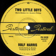 HARRIS,ROLF  -   Two little boys/ I love my love (G78193/7s)