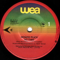 MONDO ROCK  -   No time/ Il mondo caffe (G79383/7s)
