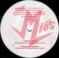 M16'S  -   I need you/ Givin' up on your love (G79344/7s)