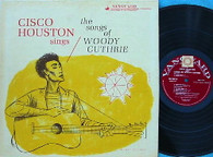 HOUSTON,CISCO  -  SINGS THE SONGS OF WOODY GUTHRIE  (G156925/LP)