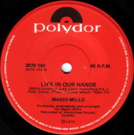 MILLO,MARIO  -   Life in our hands/ Sogno D'amore (Love in dreams) (G80316/7s)