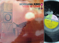 KING,MORGANA  -  WILD IS LOVE  (G157450/LP)