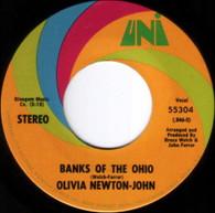 NEWTON-JOHN,OLIVIA  -   Banks of the Ohio/ It's so hard to say goodbye (G80344/7s)
