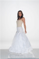 "New Full 11"" Ruffle Form Fit Bridal Petticoat Wedding Gown Slip"