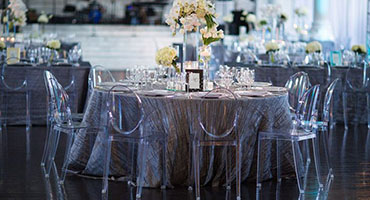 platinum crinkle taffeta tablecloths coutureflorals