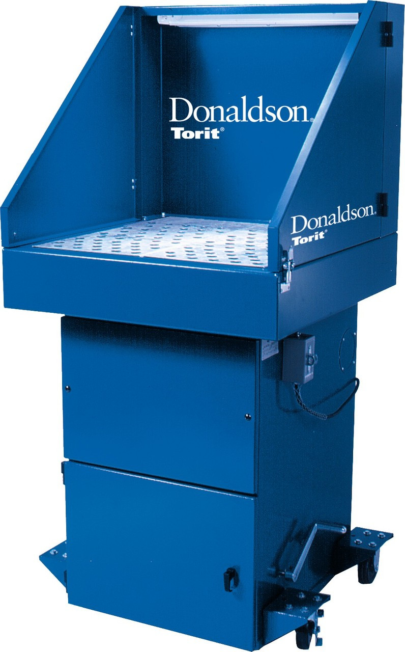 Donaldson Torit Downdraft Bench Dust Collection Systems