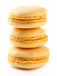 Custard Cream Macaroon