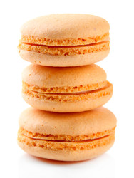 Orange Cream Macaroon