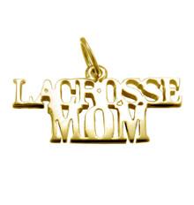 a) LACROSSE MOM PENDANT
