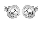 """10mm half ball post earrings (3/8""""diameter)"""
