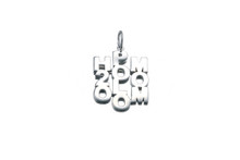 """Rhodium plated or 14K gold plated - 21 x 17mm (7/8"""" x 3/4"""")"""