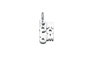 """Rhodium plated or 14K gold plated - 21 x 11mm (3/4"""" x 1/2"""")"""