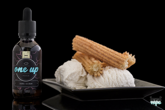 One Up Vapor: Churros and Ice Cream (60ml)