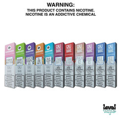 Cali Bar Disposable Vape Pod System 1.3ML 5% Nicotine