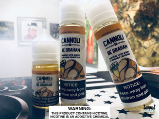 Cassadaga Liquids: Cannoli x Be Graham