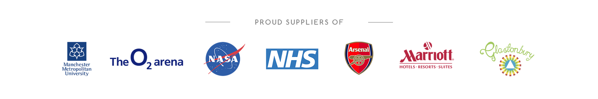 Proud Suppliers