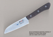 "MAC Knives - Superior 4"" Santuko paring knife - SK-40"