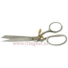 "Gingher 8"" Spring Action Knife Edge Dressmaker's Shears - G-8SA"
