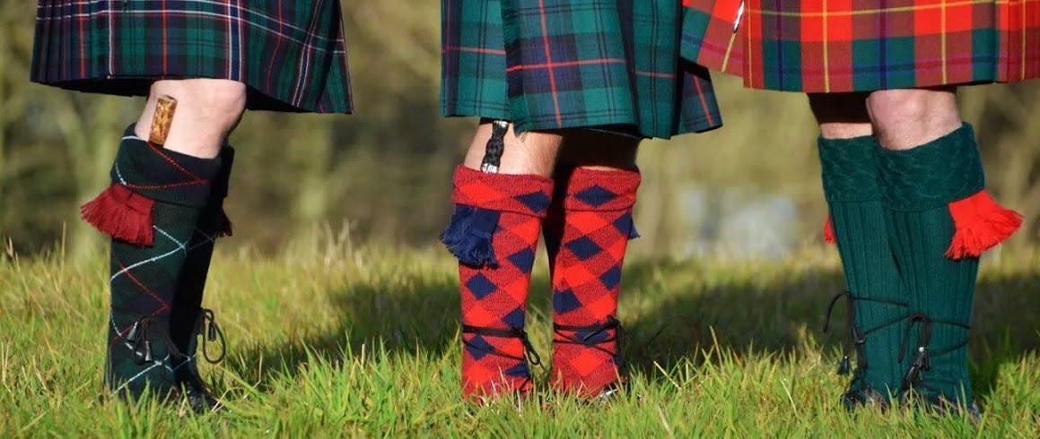 Tartan Fabrics Kilts Ties Blanket Scarves Scottish Gifts