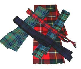 Tartan Ribbon 6 Inch Wide
