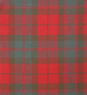 Fraser Clan Weathered Heavy Weight Tartan