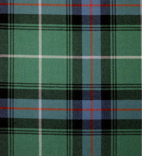 MacDonald of the Isles Hunting Ancient Heavy Weight Tartan