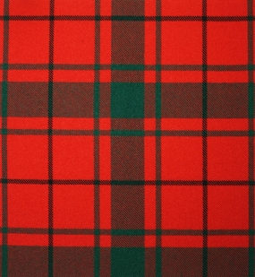 MacDonald of the Isles Red Modern Heavy Weight Tartan
