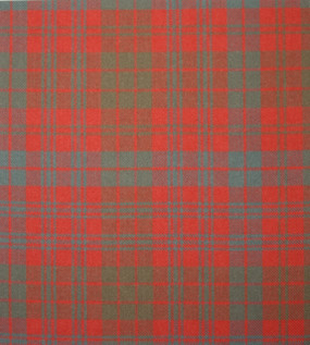Ross Red Weathered Heavy Weight Tartan