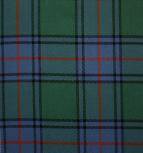 Shaw Green Ancient Heavy Weight Tartan