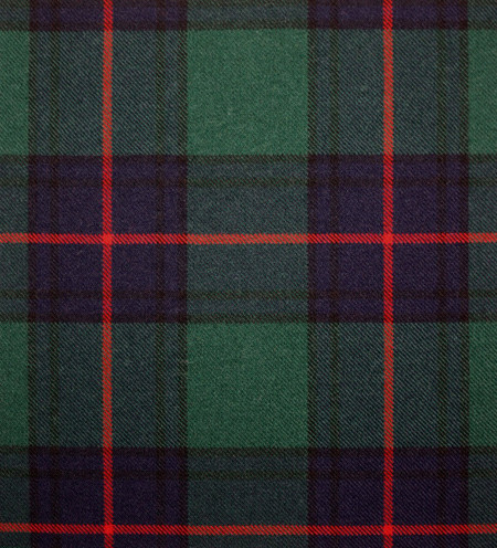 Shaw Green Modern Heavy Weight Tartan