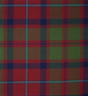 Shaw of Tardarroch Red Ancient Heavy Weight Tartan