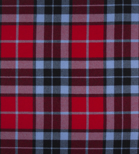 Thompson Red (MacTavish) Modern Heavy Weight Tartan