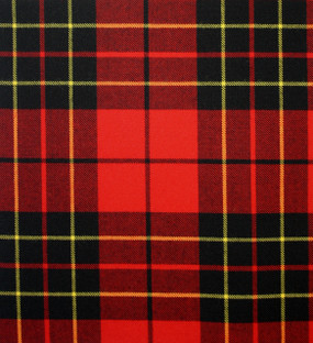 Brodie Red Medium Weight Tartan