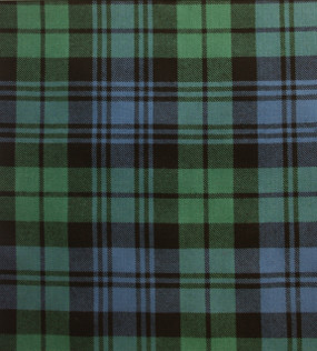 Campbell Clan Ancient Medium Weight Tartan