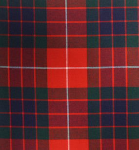 Fraser Red Modern Medium Weight Tartan