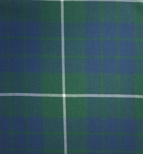 Hamilton Green Ancient Medium Weight Tartan