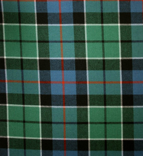 Leslie Green Ancient Medium Weight Tartan