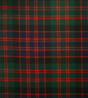 MacDonald Clan Modern Medium Weight Tartan